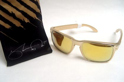 Oakley Shaun White Signature Series Holbrook in 24k