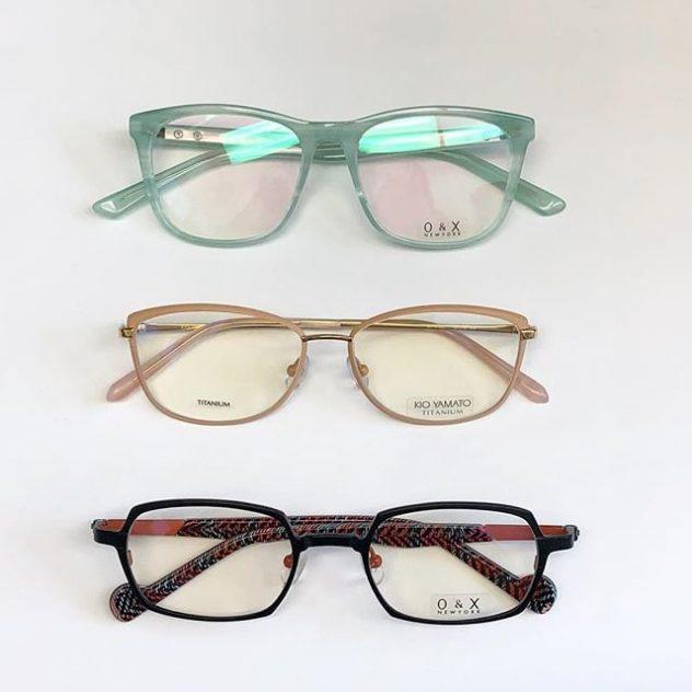 Kio Yamato and O&X Eyeglasses