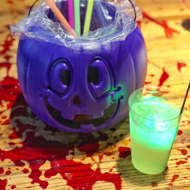Halloween drinks from the Ghost Bar at Ala Moana Shopping Center