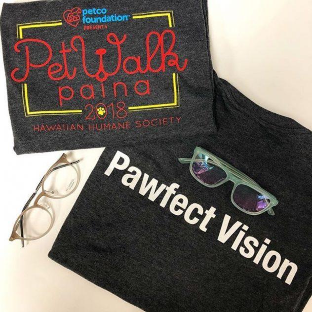 Kio Yamato and O&X eyeglasses on a Petwalk Paina T-shirt