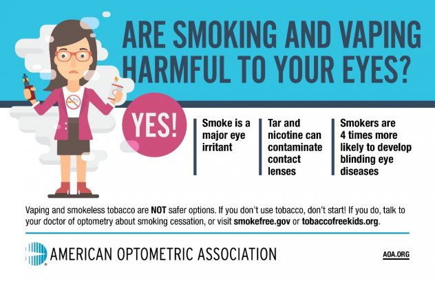 Are Smoking and Vaping Harmful to YOur Eyes?