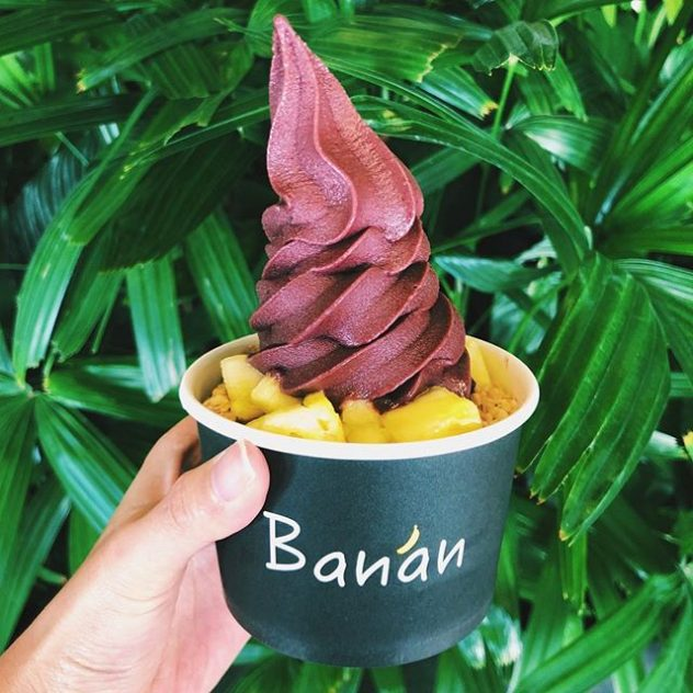 A bowl of Ban'an yougurt.