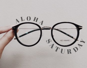 Loving these basic and adorable @kioyamatooptics frames 🖤